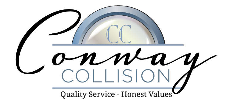 KM Digital Design, Logo design for Conway Collision