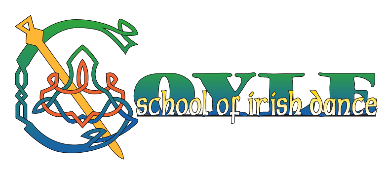 KM Digital Design, Logo design for Association for Coyle School of Irish Dance