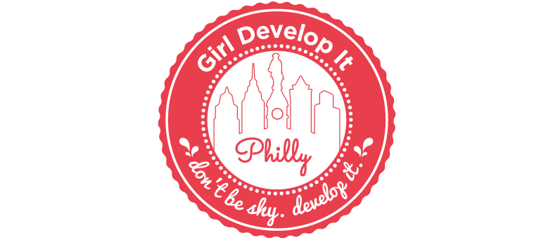 KM Digital Design, Logo design for Girl Develop It Philly