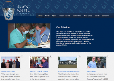 Men Anpil 501c3 Website
