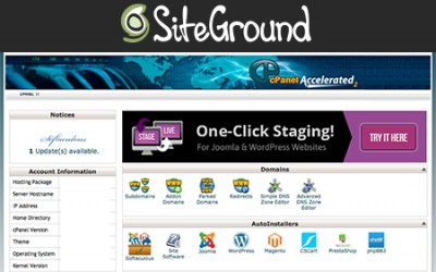 Accessing your web hosting account