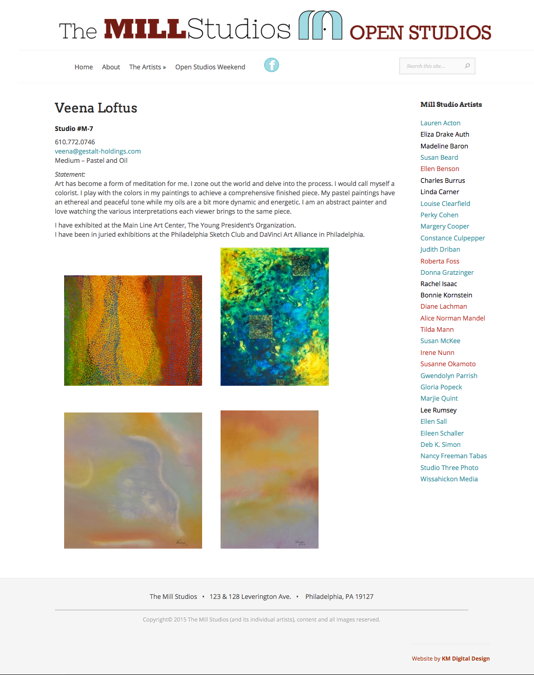 Artist's Page