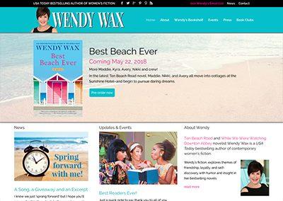 Author Wendy Wax