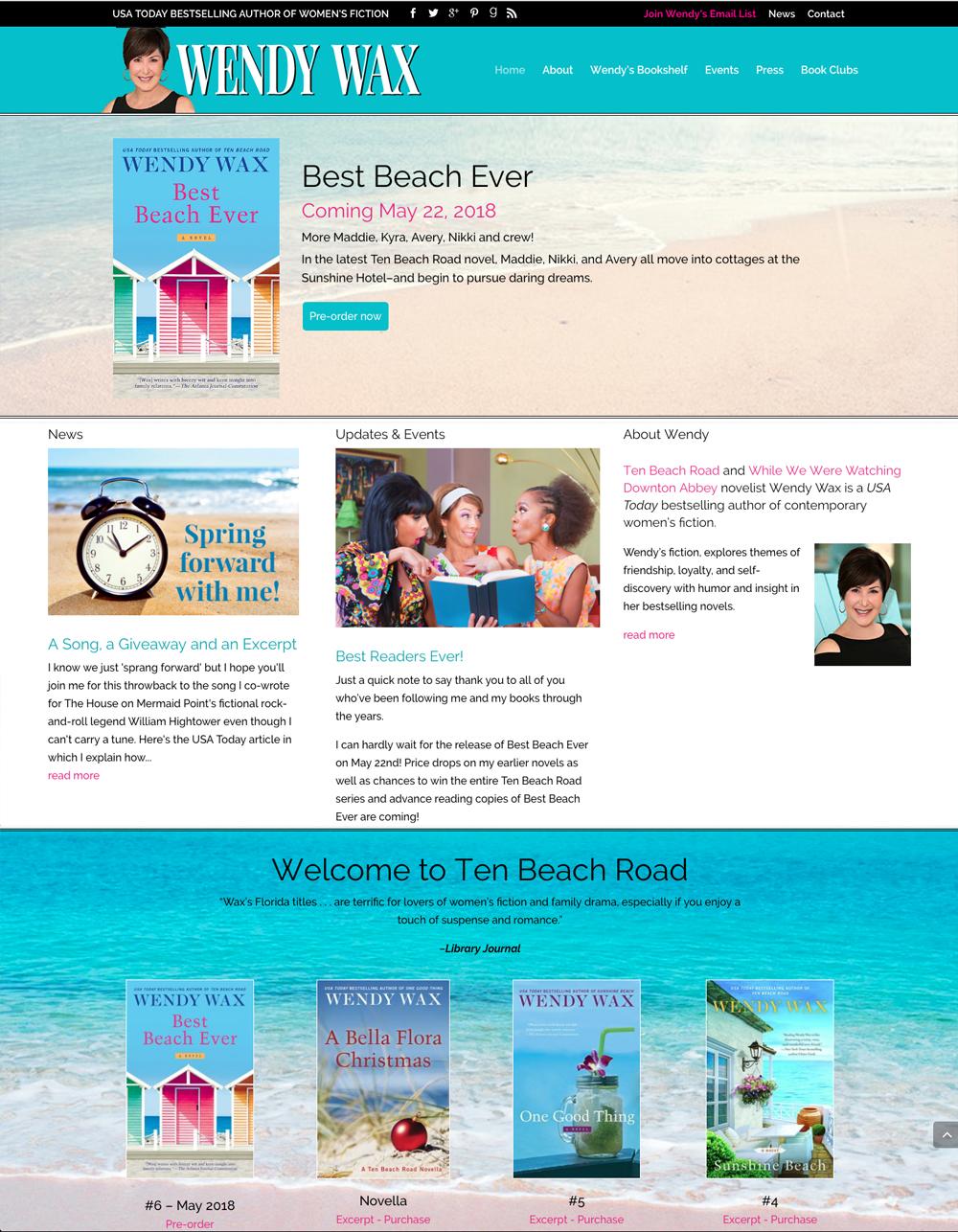 Author Wendy Wax Website