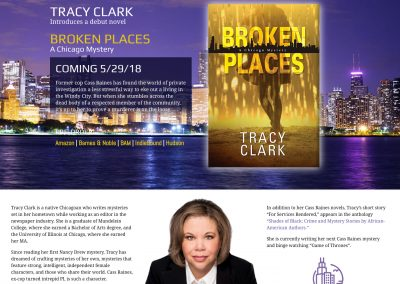 Author Tracy Clark